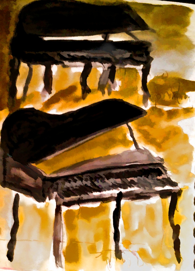 imperfect dulling piano