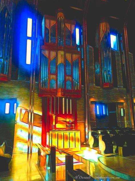St. Benoit organ